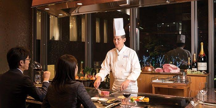 鉄板焼 ちゃやまち/ホテル阪急インターナショナル 1枚目の写真