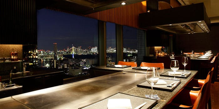 鉄板焼 天王洲/第一ホテル東京シーフォート 1枚目の写真