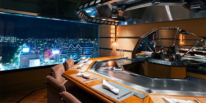 鉄板焼 然荘/ホテル クラウンパレス 神戸17階 5枚目の写真