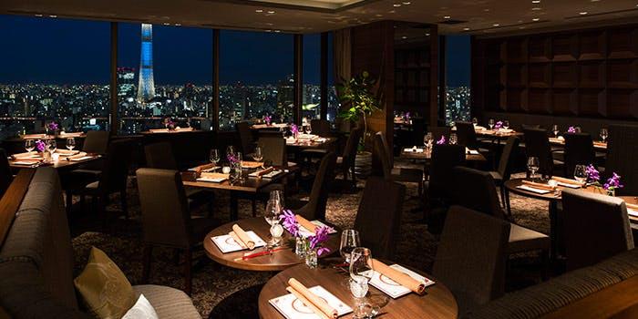 THE DINING シノワ 唐紅花&鉄板フレンチ 蒔絵/浅草ビューホテル27F 2枚目の写真