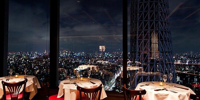 ブラッスリーオザミ 東京スカイツリータウン・ソラマチ店/東京ソラマチ30F 3枚目の写真