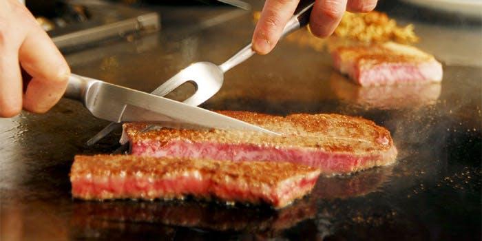 鉄板焼きステーキ あずま 2枚目の写真