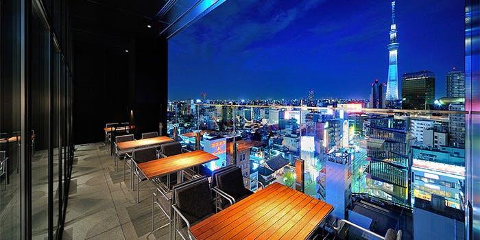 R Restaurant & Bar/ザ・ゲートホテル雷門13F 4枚目の写真