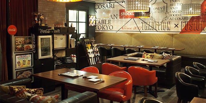 コサリ ニューコリアン テーブル トウキョウ 2枚目の写真