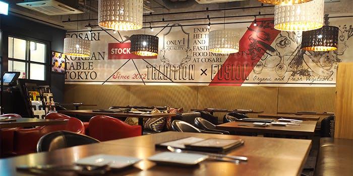 コサリ ニューコリアン テーブル トウキョウ 3枚目の写真