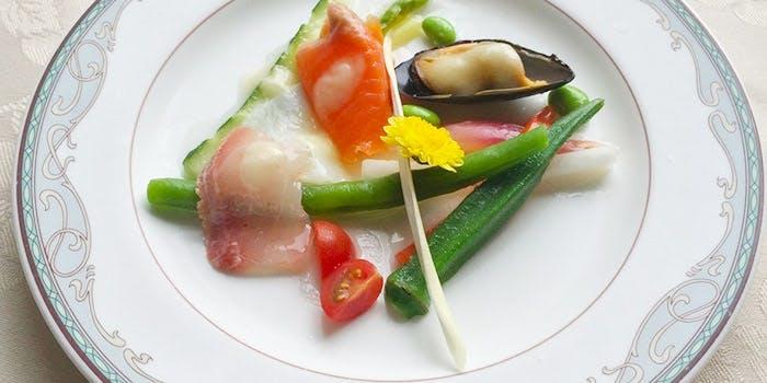 レストランとステーキハウスのお店 松尾 かも川 6枚目の写真