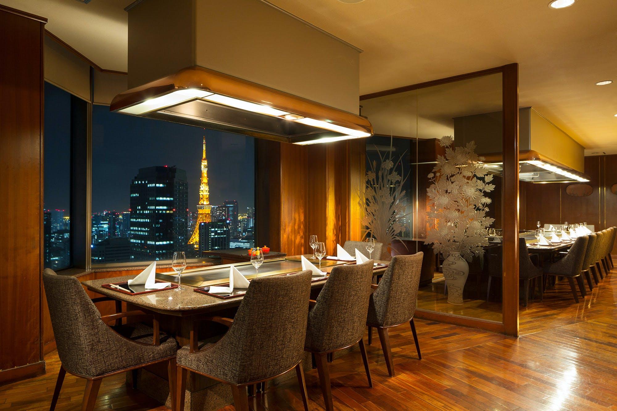 鉄板焼 赤坂/ANAインターコンチネンタルホテル東京