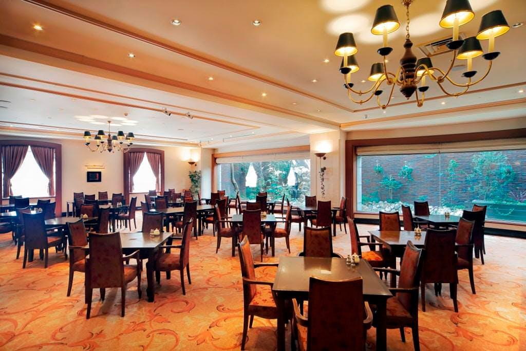 カフェ&ダイニング アンバーコート/ホテル日航プリンセス京都
