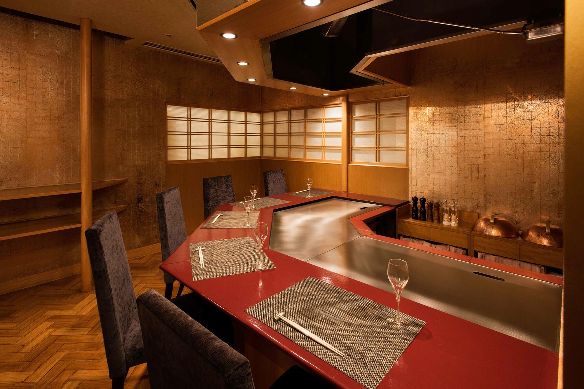 日本料理なにわ 鉄板焼/リーガロイヤルホテル東京