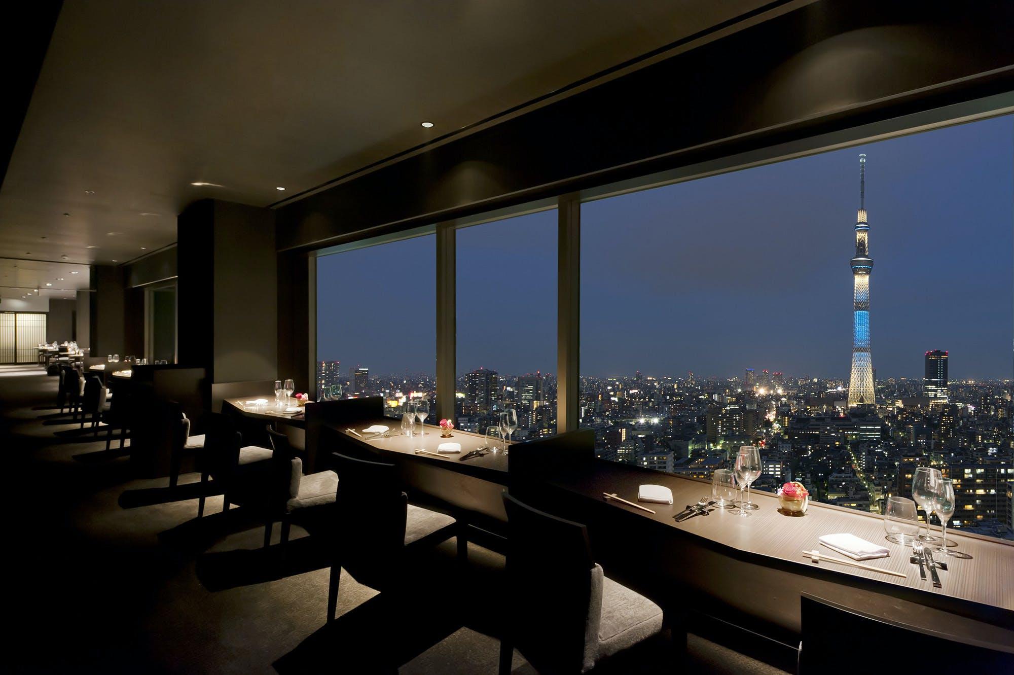 スカイツリー(R)ビューレストラン&バー 簾/東武ホテルレバント東京