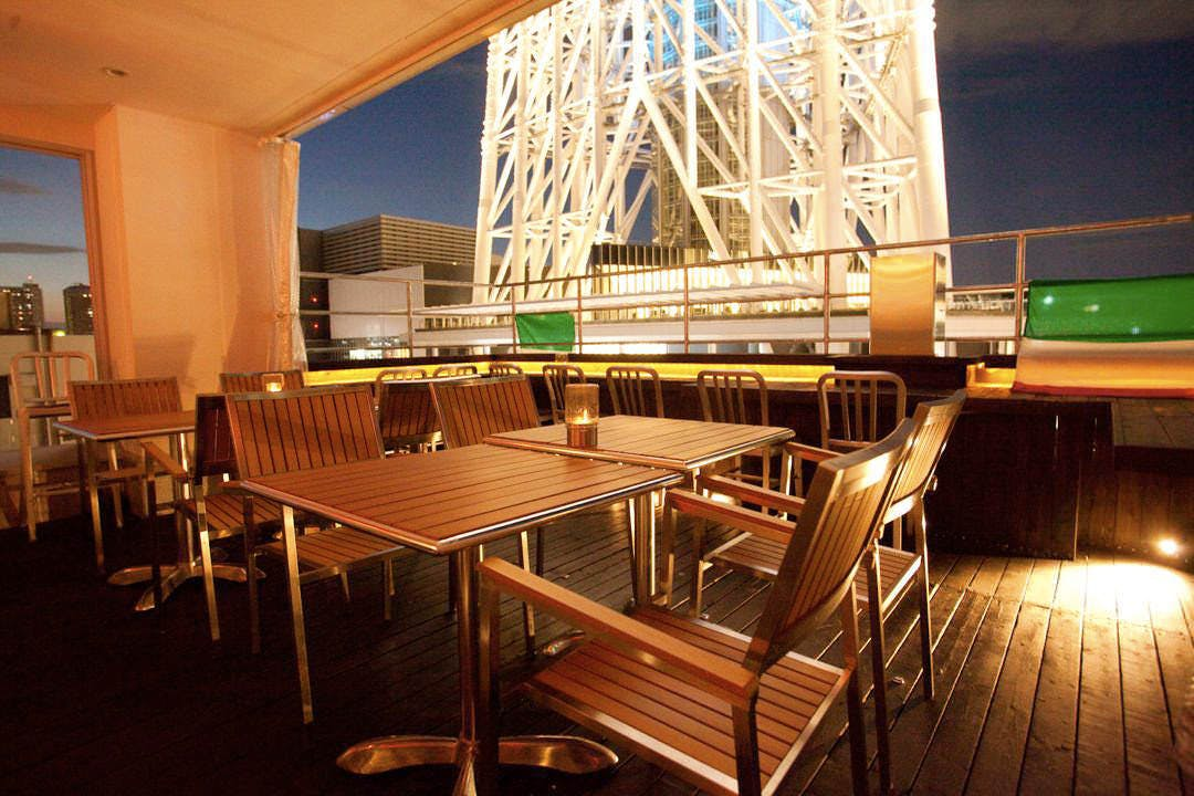 Trattoria Piccole Lampare & rooftop sky bar