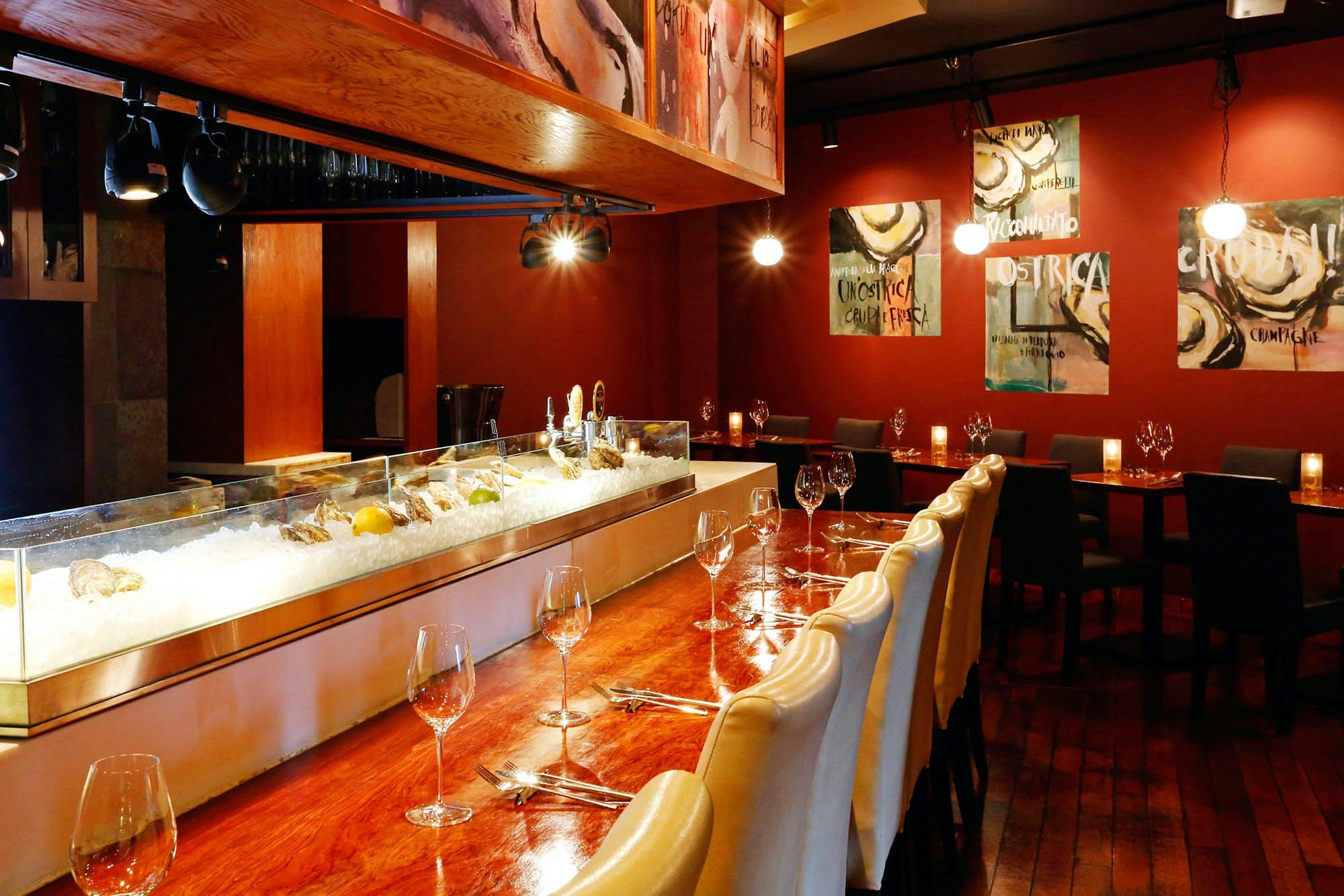 Oysterbar&Wine BELON �_�ے�
