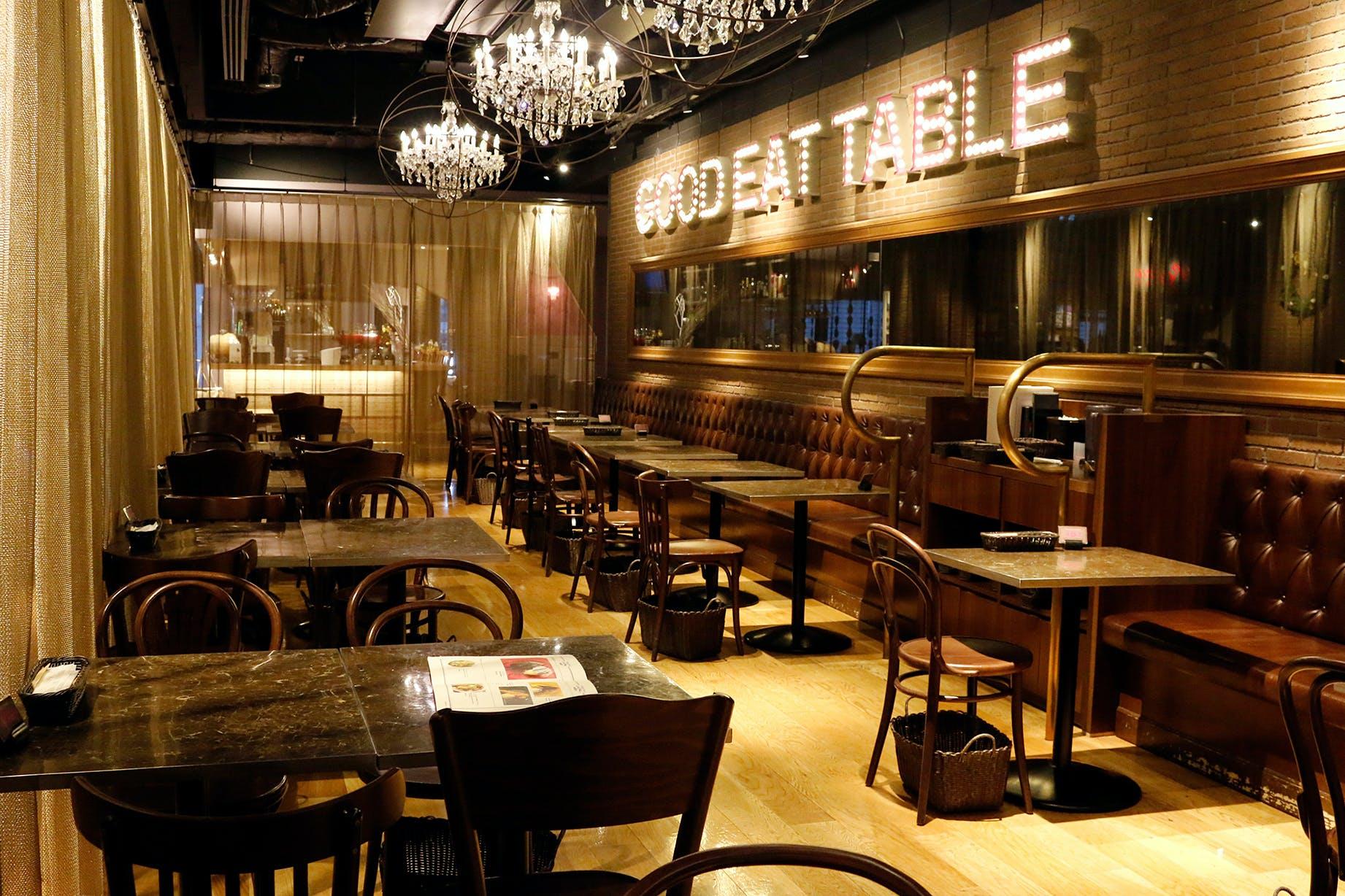 GOOD EAT TABLE �� STANDARD BAR�^�O�����t�����g���