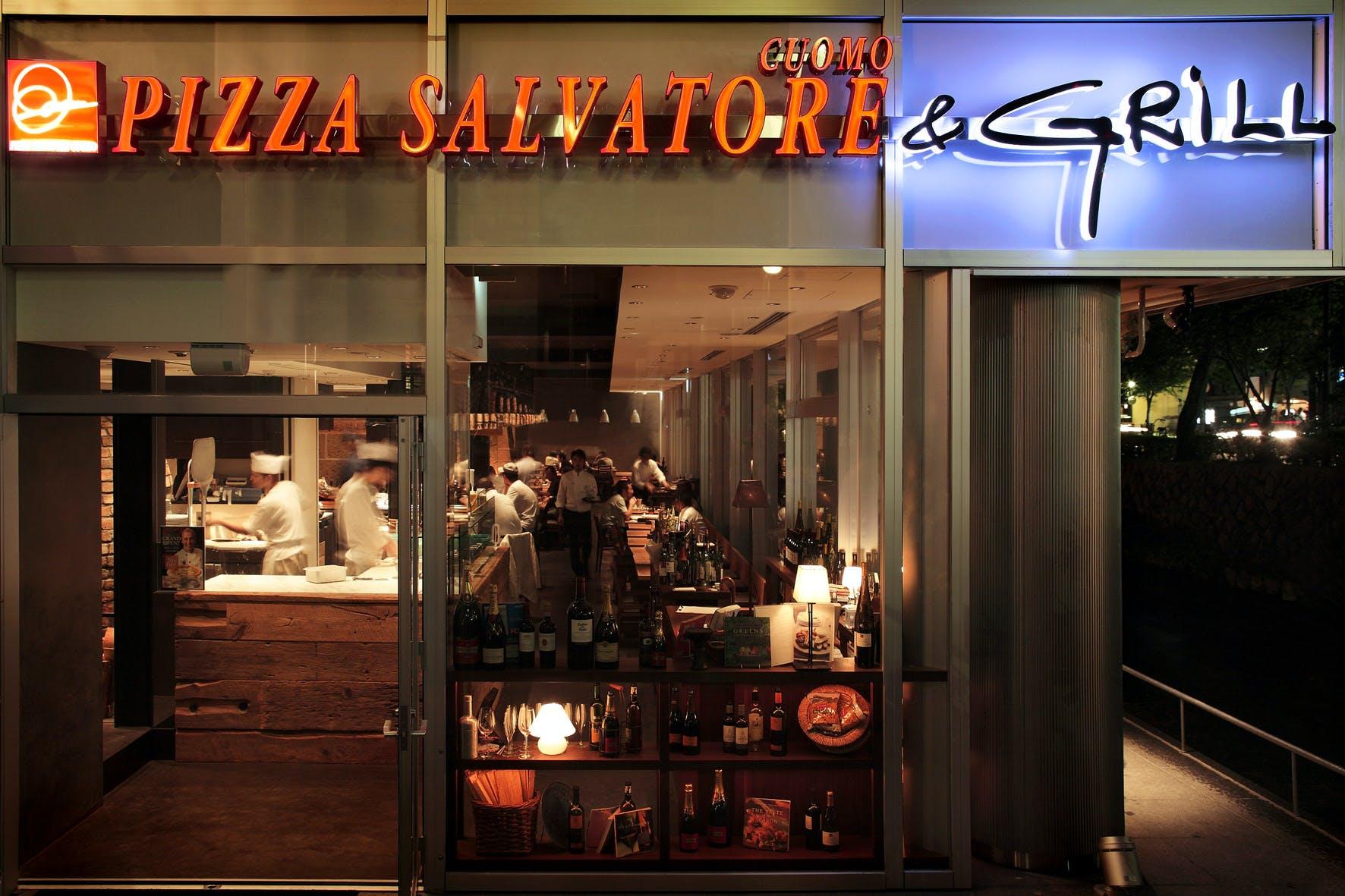 PIZZA SALVATORE CUOMO & GRILL ���s