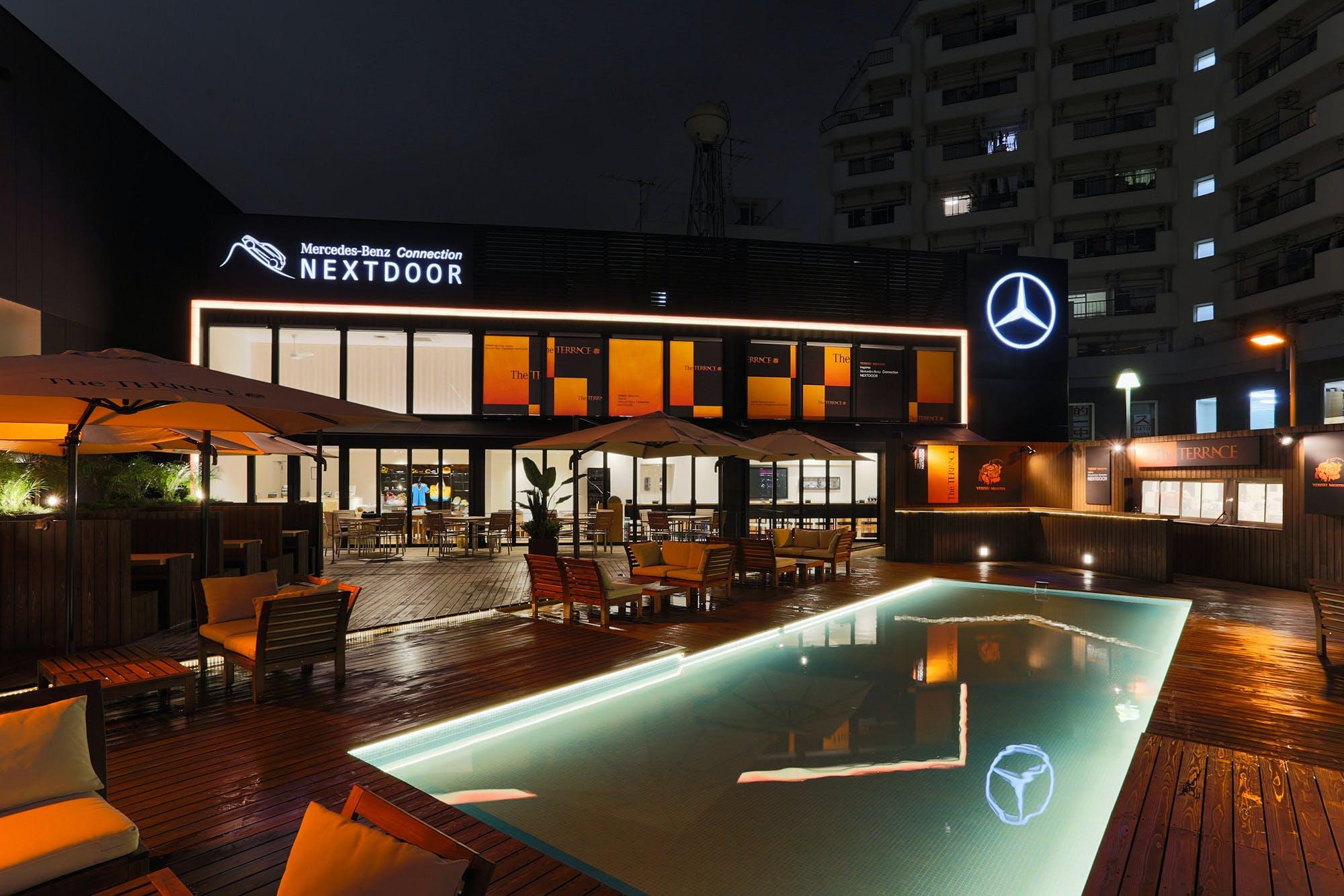 Mercedes-Benz Connection NEXTDOOR �uThe TERRACE�v