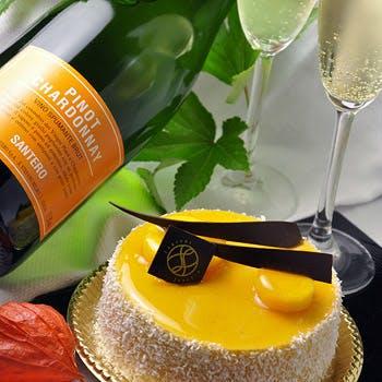 【一休限定!】ハッピーバースデイディナーコース スパークリングフルボトル+ケーキ付