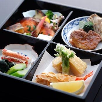 【カウンター席のご昼食】御茶屋弁当