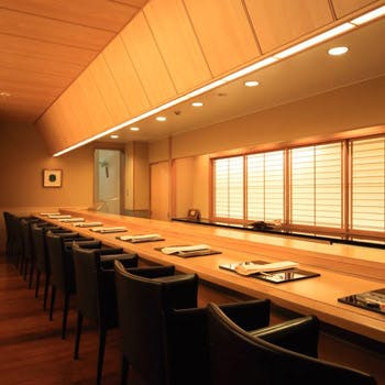 【カウンター席】加賀料理料亭「浅田」で焼物,煮物,揚物をお好みで3品お選び頂けるプリフィクス会席全7品