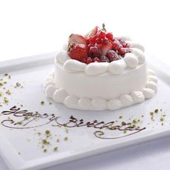 【記念日に最適】乾杯スパークリング&ホールケーキ付!メインは牛ハラミステーキ!パスタやマグロ含む5品