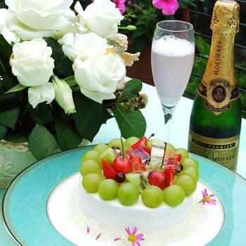 【乾杯スパークリング&飲み放題付】特選牛フィレなどフルコース全6品!記念日にもおすすめのベストプラン
