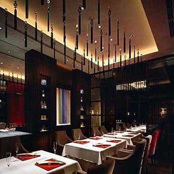 乾杯グラスシャンパン、ワイン&中国茶付 ミシュラン星獲得の味を東京スカイツリーの眺望と共に