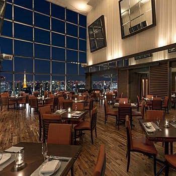 【ビアダイニング】地上47階夜景眺望!店内でお得に楽しむお料理7品&フリードリンク