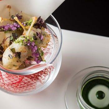 【グラスシャンパン付】季節感溢れる人気のディナーコース