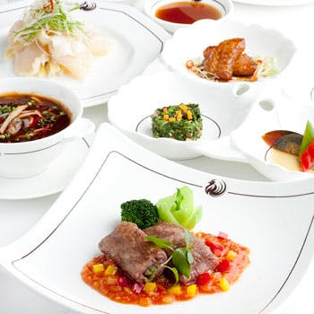 【一休限定】本格的広東料理を堪能!ヘイフンテラスの魅力を凝縮したディナー6品コース