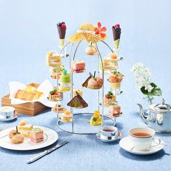 【アフタヌーンティー】 期間限定アフタヌーンティーで食事に合わせて茶葉交換もご自由に