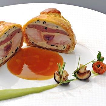 レストラン タテル ヨシノ 銀座のディナーコース「Menu Degustation」グラスシャンパン付き