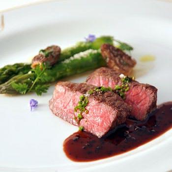 【一休限定】タテルヨシノのスペシャリテ「ファアグラの前菜」「和牛ステーキ」を選べる特別ディナー