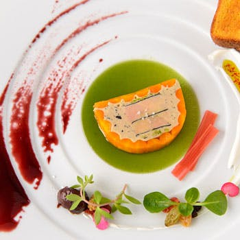 【一休限定】 ドリンク2杯付 「フォワグラ」「和牛ステーキ」の料理をを選べる美食のフルコースディナー