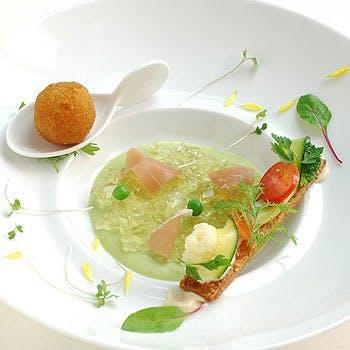 旬の魚とお肉を両方味わえる 季節の5品 メニュースペシャル 6534円