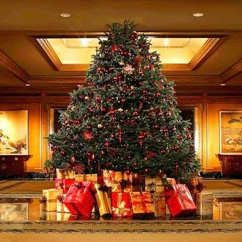 【christmas2017】スペシャルハイティー シャンパンフリーフローとクリスマスプレゼントも! 12000円