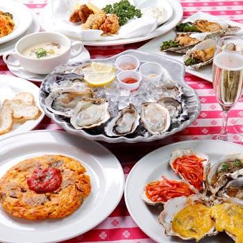 【一休限定】牡蠣づくしプラン