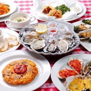 【一休限定】牡蠣づくしプラン 2時間飲み放題付