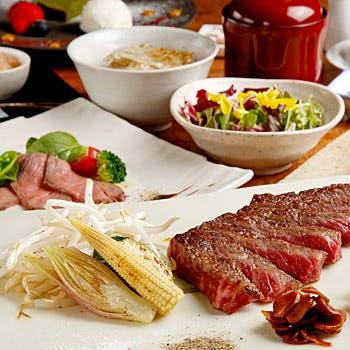 【GW限定ランチプラン】選べる1ドリンク付!黒毛和牛肉や季節のサラダ、旬の魚介など全8品