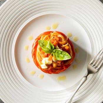 【イタリアンディナー】季節の食材を味わう、肉&魚のWメインと…