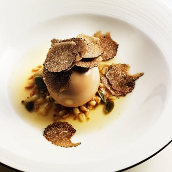 【シェフ アンドレによる7コースディナー】芸術とも言える料理技術と美皿の本格イタリアンキュイジーヌ