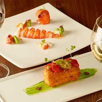 【ヒルトン大阪】最上階から見渡す夜景とお魚、お肉のダブルメインスペシャルコース 13,180円 → 9,700円