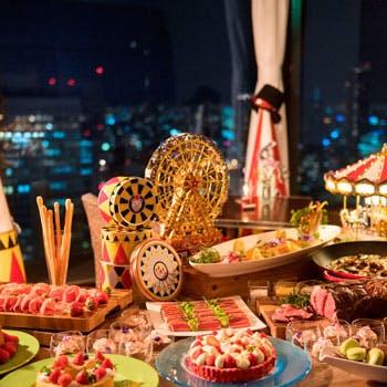 ウインドーズ オン ザ ワールド/ヒルトン大阪 最上階(35階)の写真