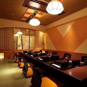【お顔合わせお祝い】個室確約スパークリングも選べるワンドリンク付「お祝い会席」10,605円→7,750円