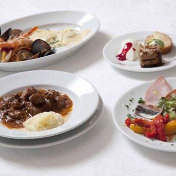 【シェフのおすすめコース】前菜盛合せ/パスタ/選べるメイン/ドルチェなど含む全4品 3,500円