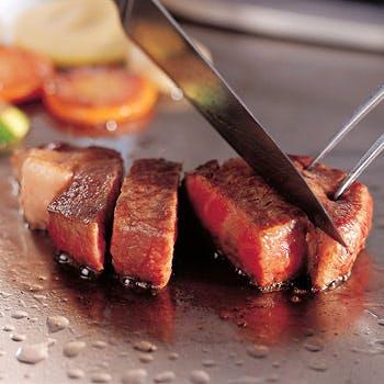 【一休限定】通常9,207円→6,000円!国産牛フィレを豪華に鉄板焼で食すランチ!選べるドリンク付きプラン