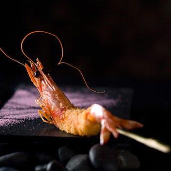 【忘新年会プラン】飲み放題 × 創作串揚げ14串を堪能!〆のお食事やデザートまで全6品コース!