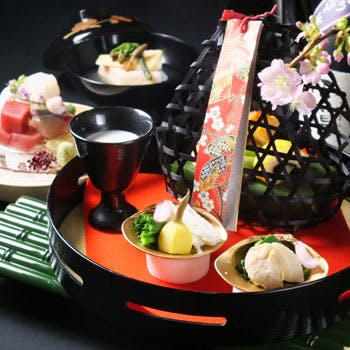 【春の味覚】旬の食材を使用した味覚会席全9品!