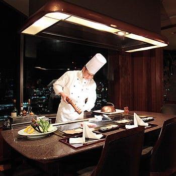 鉄板焼 赤坂/ANAインターコンチネンタルホテル東京の写真