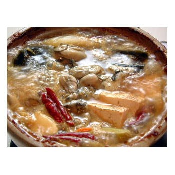 真牡蠣食べ比べと鍋のコース