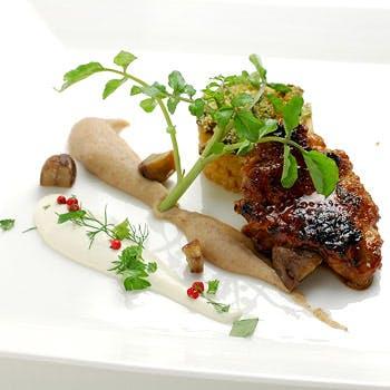 【ディナー】 前菜からデザートまでお好み選べる季節の5皿 プリフィックスディナー