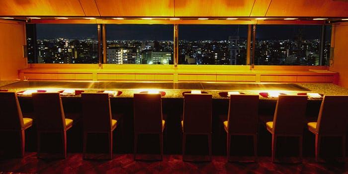 地上60mの絶景レストラン「鉄板焼 ときわ」の写真1